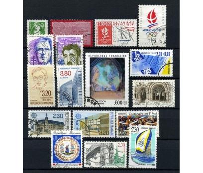 FRANSA DAMGALI 1990-1  15 TAM SERİ (021214)