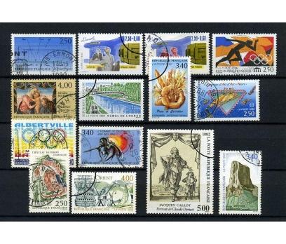 FRANSA DAMGALI 1992-1  13 TAM SERİ (021214)