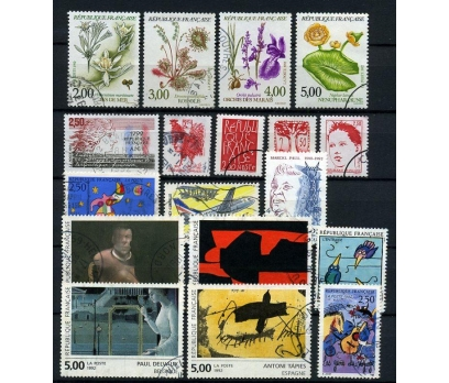 FRANSA DAMGALI 1992-2   9 TAM SERİ (021214)