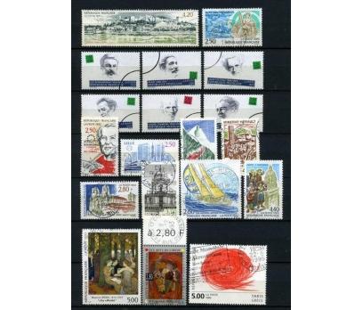 FRANSA DAMGALI 1993-2  14 TAM SERİ (021214)