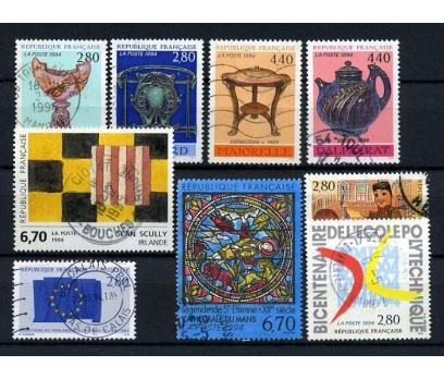 FRANSA DAMGALI 1994-1   6 TAM SERİ (021214)