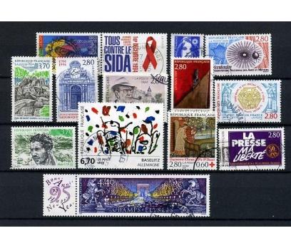 FRANSA DAMGALI 1994-2   13 TAM SERİ (021214)