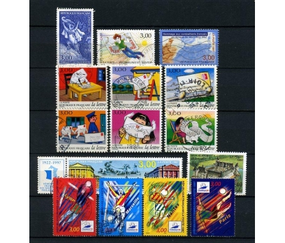 FRANSA DAMGALI 1997-2   7 TAM SERİ (031214)