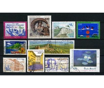 FRANSA DAMGALI 1999-1  10 TAM SERİ (031214)