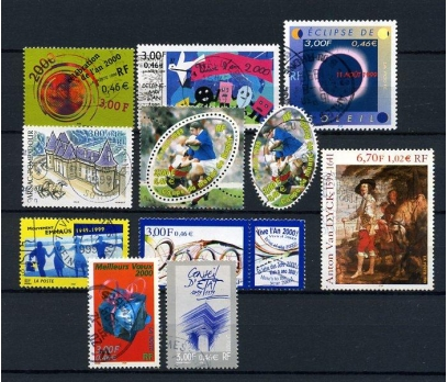 FRANSA DAMGALI 1999-2  10 TAM SERİ (031214)