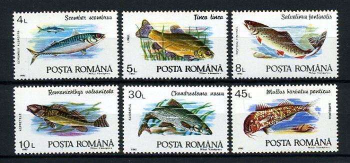 ROMANYA ** 1992  BALIKLAR  TAM SERİ SÜPER (161214) 1