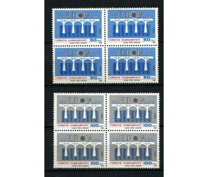 CUMHURİYET ** 1984 EURO CEPT DBL (061214)