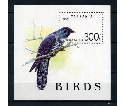 TANZANYA ** 1992 KUŞLAR BLOK SÜPER (111214)