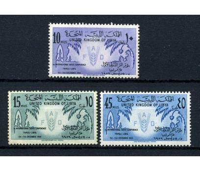 LİBYA ** 1959 FAO TAM SERİ SÜPER (090115)
