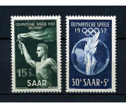 SAAR ** 1952 OLİMPİYATLAR TAM SERİ SÜPER(020115)