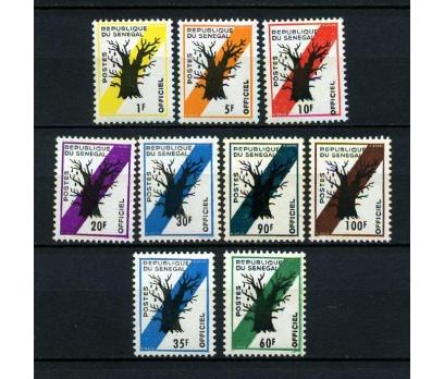 SENEGAL ** 1966-77 AĞAÇ & POSTA  3 TAM S. (040115)
