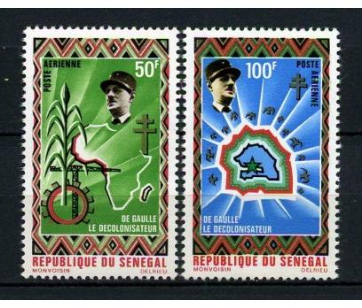 SENEGAL ** 1970 DE GAULLE TAM SERİ SÜPER (040115)
