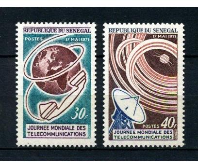 SENEGAL ** 1971 UZAY TAM SERİ SÜPER (040115)