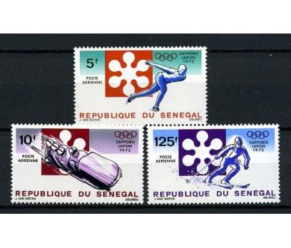 SENEGAL** 1972 KIŞ OYUNLARI TAM SERİ SÜPER(040115)