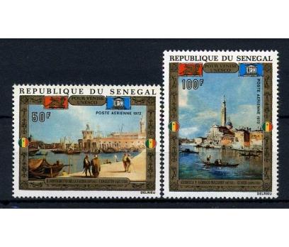 SENEGAL** 1972 TABLOLAR TAM SERİ SÜPER(040115)