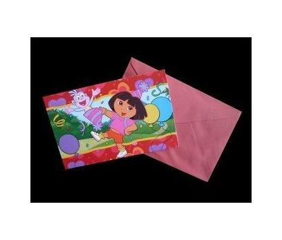 Dora Doğumgünü Kartı