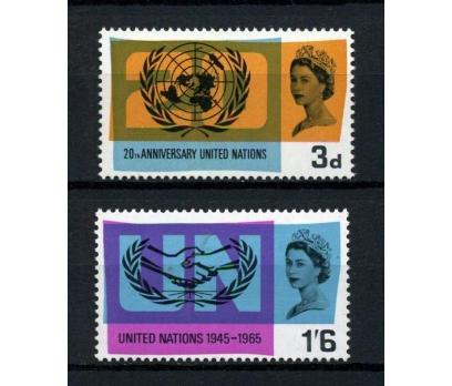 İNGİLTERE** 1965 B.MİLLETLER 20.Y TAM SERİ(220115)