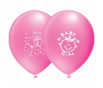 It's a Girl Baskılı Balon