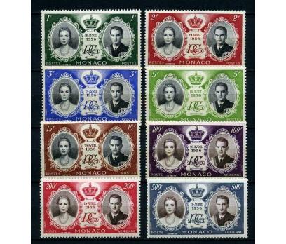 MONAKO** 1956 G.KELLY & P.RAİNER TAM SERİ(180115)