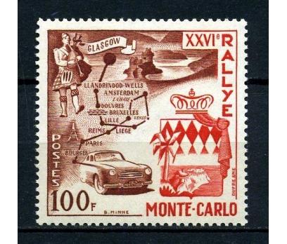 MONAKO** 1956 MONTE CARLO RALLİSİ TAM SERİ(180115)