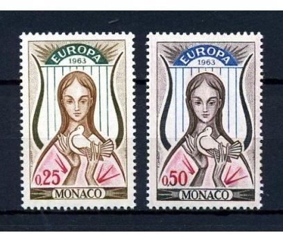 MONAKO** 1963 E.CEPT TAM SERİ SÜPER (190115)