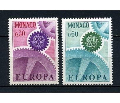 MONAKO ** 1967 E.CEPT TAM SERİ SÜPER (200115)