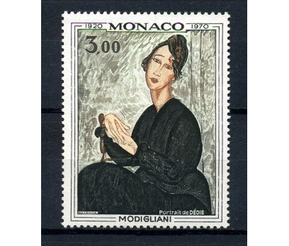 MONAKO ** 1970 TABLO & MODİGLİANİ TAM SERİ(200115)