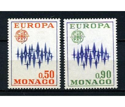 MONAKO ** 1972 EUROPA CEPT TAM SERİ SÜPER (210115)