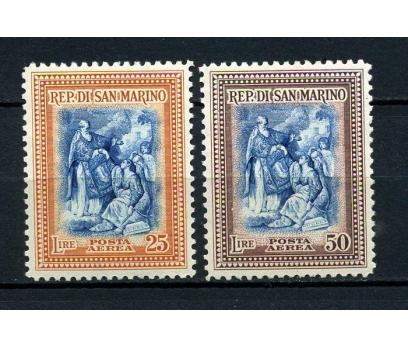 SAN MARİNO ŞARNİYERLİ 1947 BATONİ TAM SERİ(270115)
