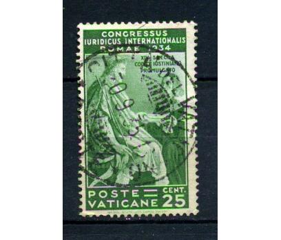 VATİKAN DAMGALI 1935 KONGRE 1 VALÖR  (220115)