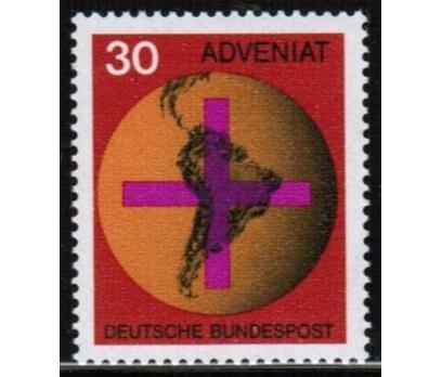 ALMANYA (BATI) 1967 DAMGASIZ LATİN AMERİKA KATOLİK