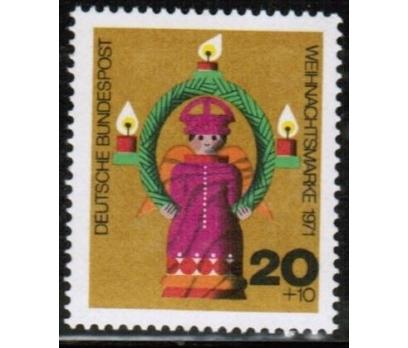 ALMANYA (BATI) 1971 DAMGASIZ CHRİSTMAS SERİSİ