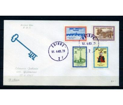 CUMH.FDC 1963 EDİRNE 600.YILI B.ARSEN(270215)