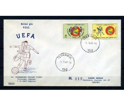CUMH.FDC 1967 GENÇLER FUTBOL TAAH. KAMER  (270215)
