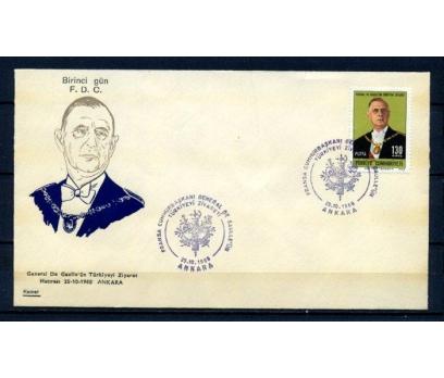 CUMH.FDC 1968 DE GAULLE KAMER (270215)