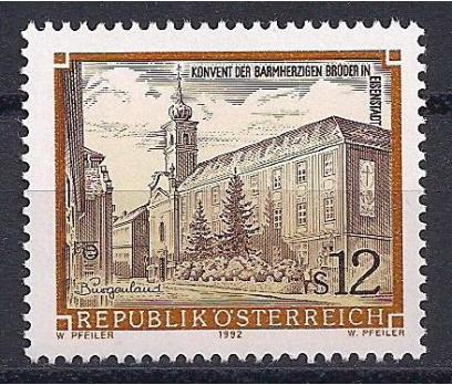1992 Avusturya Charity Brothers Manastırı Damgasız