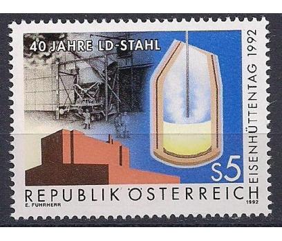 1992 Avusturya Demirhane Günü Damgasız**