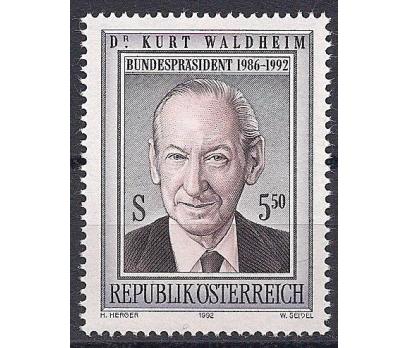 1992 Avusturya Kurt Waldheim Damgasız**