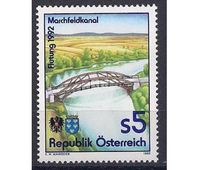 1992 Avusturya Marchfeld Kanalı Damgasız**