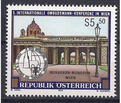 1992 Avusturya Ombudsman Konferansı Damgasız**