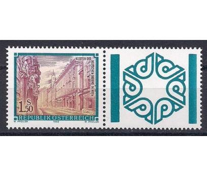 1992 Avusturya Viyana Alman Manastırı Damgasız**