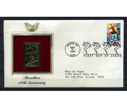ABD  GOLD FDC 1996 MARATON TAM SERİ (180315)