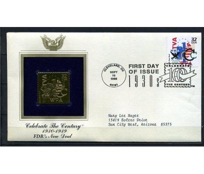 ABD  GOLD FDC 1998 GÜVENLİK 1930'LARDA (190315)