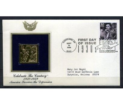 ABD  GOLD FDC 1998 SOSYAL KRİZ 1930'LARDA (190315)