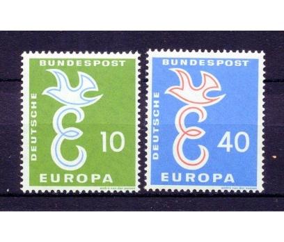 ALMANYA ** 1958 EUROPA CEPT TAM SERİ (220315)