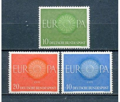 ALMANYA ** 1960 EUROPA CEPT TAM SERİ (220315)