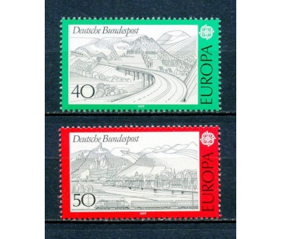 ALMANYA ** 1977 EUROPA CEPT TAM SERİ(250315)