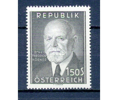 AVUSTURYA ** 1957 T.KÖRNER TAM SERİ SÜPER(300315)