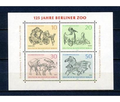BERLİN ** 1969 HAYVANLAR BLOK SÜPER (290315)