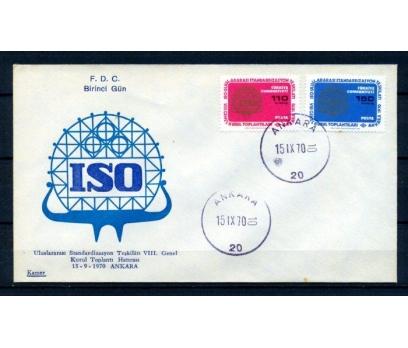 CUMH.FDC 1970 ISO GENEL KURUL KAMER SÜPER (150315)